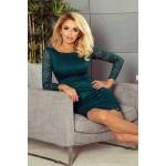 Trendi csipke női ruha Amy - zöld 180-2