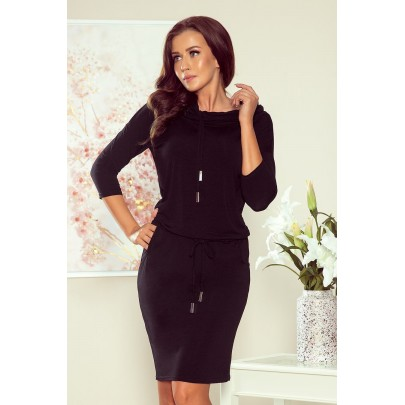 Modern női ruha Jade fekete NEW 44-20