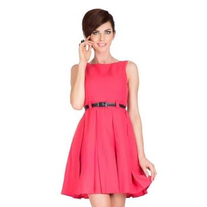 Trendi női ruha Jessica - korall 6-8