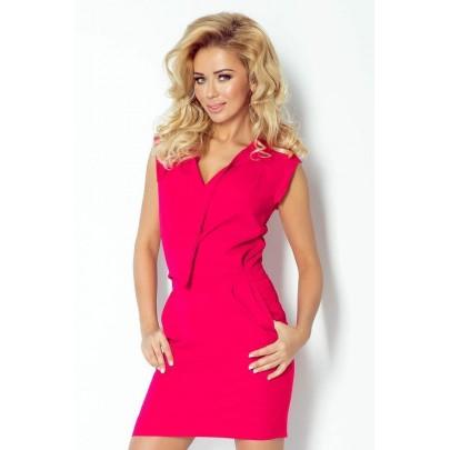 Attraktív női ruha Kirsten rózsaszín v94-9