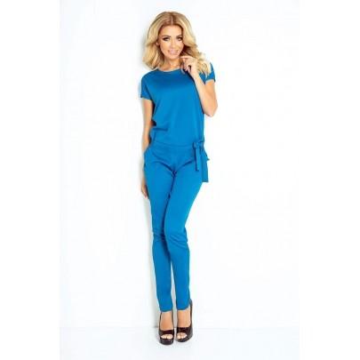 Elegáns női overál halvány kék 120-9