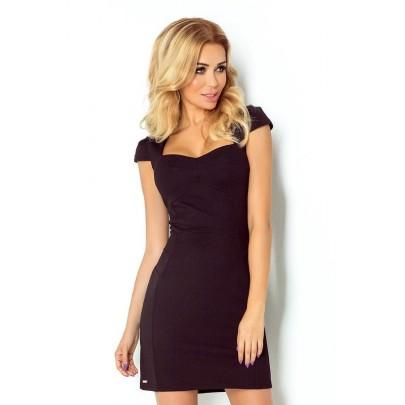 Vonzó női ruha Belina fekete v118-5