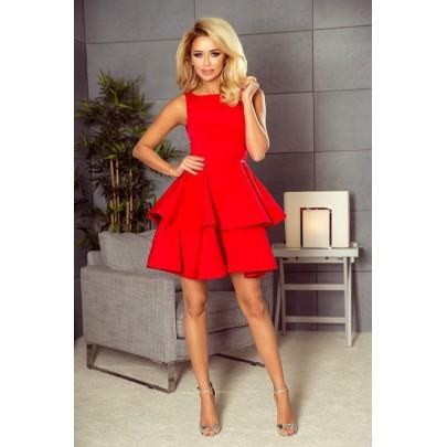 Divatos női ruha Nicolina - piros 169-1