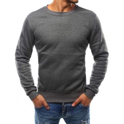 Antracit pulóver nélkül kapucni bx2405