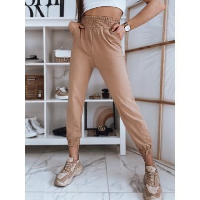 Stílusos női barna melegítőnadrág UY0838