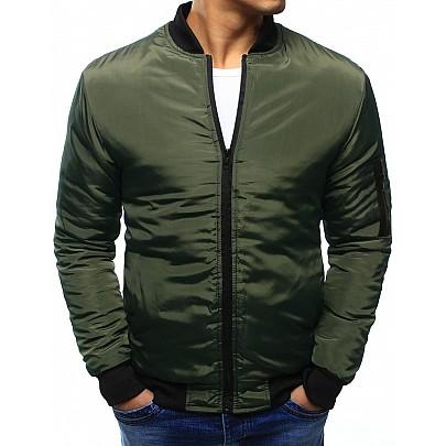 Zöld férfi átmeneti kabát tx3407