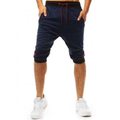 Kényelmes kék férfi rövidnadrág sx1092