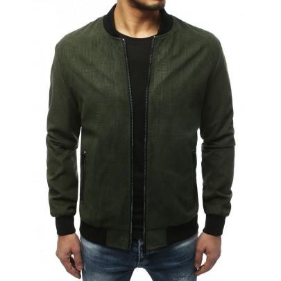 Stílusos zöld férfi bomber kabát TX3620
