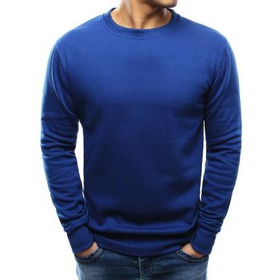 Elegáns férfi kék pulóver bx3695