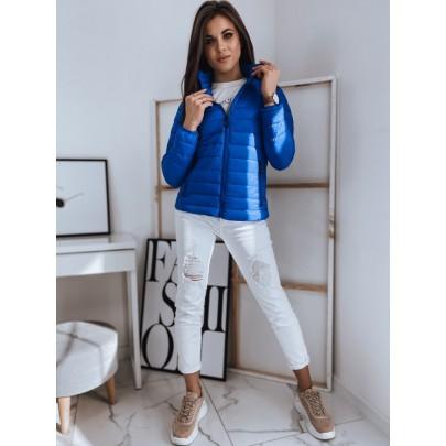 Női könnyű kék steppelt kabát TY1746