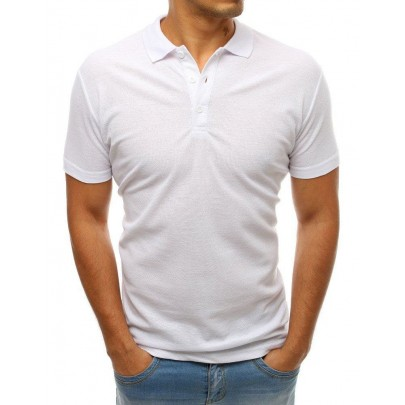 Kényelmes férfi fehér pólóing px0176