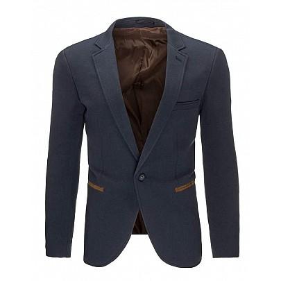 Sötét kék stílusos férfi zakó mx0279