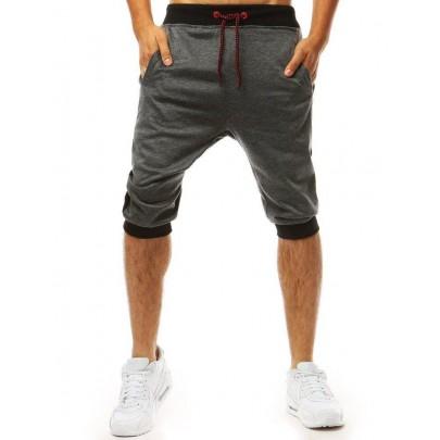 Kényelmes grafit férfi rövidnadrág sx1091