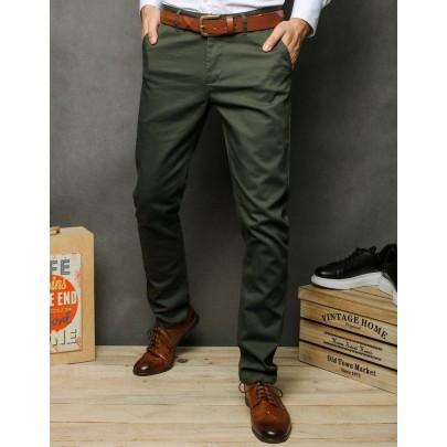 Férfi khaki kényelmes chino nadrág ux2392