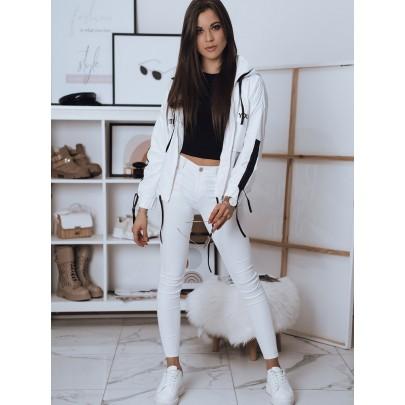 Érdekes fehér női kabát TY1816