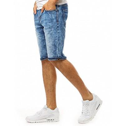 Trendi kék férfi farmer rövidnadrág sx1069