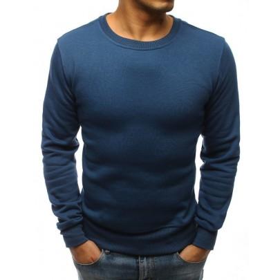 Elegáns férfi kék pulóver bx3693