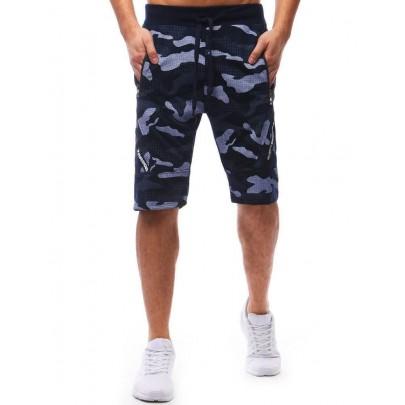 Férfi army kék rövidnadrág vsx0592