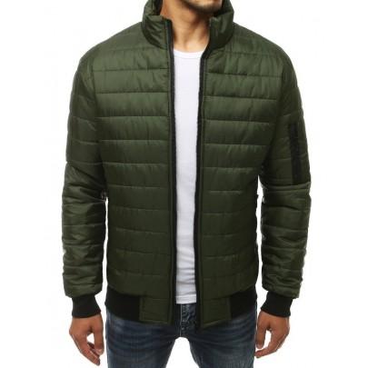 Férfi zöld átmeneti kabát tx3408