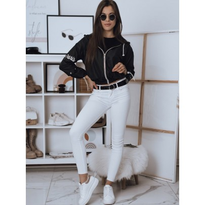 Fekete stílusos női kabát TY1823