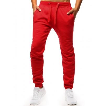 Piros férfi kényelmes melegítőnadrág ux2711
