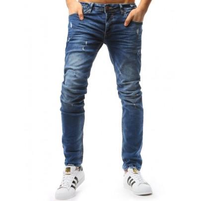 Férfi kék kényelmes farmer nadrág vux1758
