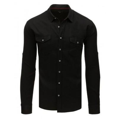 Elegáns fekete férfi ing dx1756