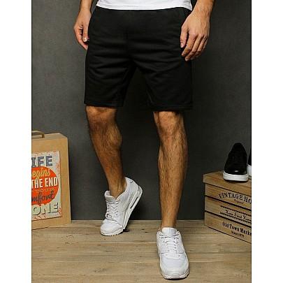 Fekete férfi stílusos rövidnadrág sx1191