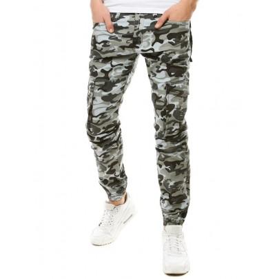 Modern férfi army szürke nadrág ux2790