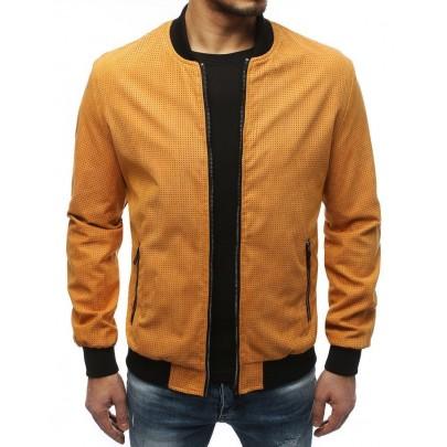 Stílusos sárga férfi bomber kabát TX3626