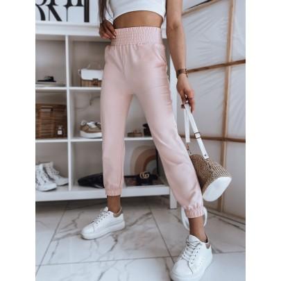Stílusos női rózsaszín melegítőnadrág UY0839