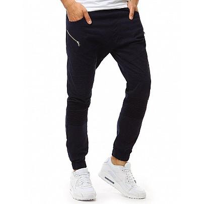 Férfi kék trendi jogger nadrág vux1889
