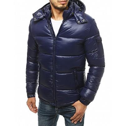 Téli férfi kabát kék színben vtx3471