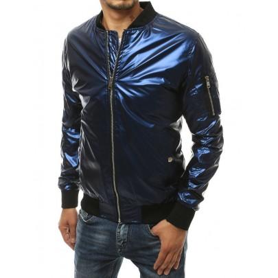 Trendi férfi kék bomber kabát tx3410