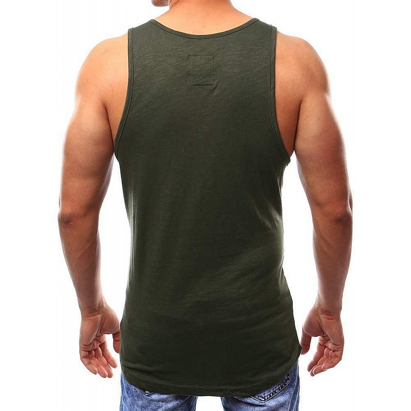 525b23c20c Divatos férfi trikó - khaki vrx2538 | Bellago.hu