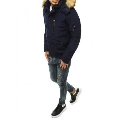 Férfi kék téli kabát tx3601