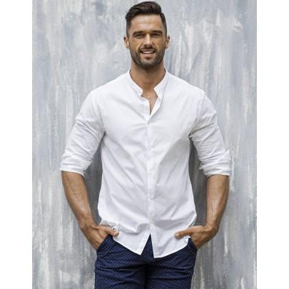 Attraktív férfi ing fehér színben dx1585