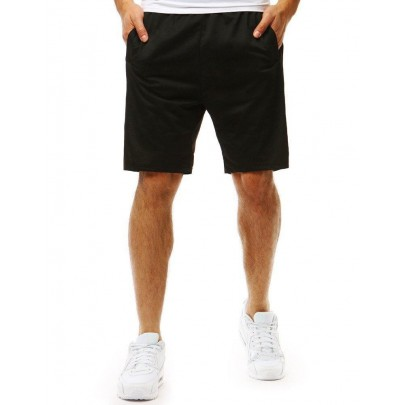 Férfi fekete rövidnadrág sx0893