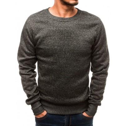 Férfi elegáns grafit pulóver bx2362