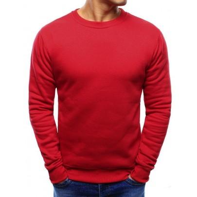 Elegáns férfi piros pulóver bx3867