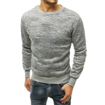 Férfi elegáns szürke pulóver bx4816