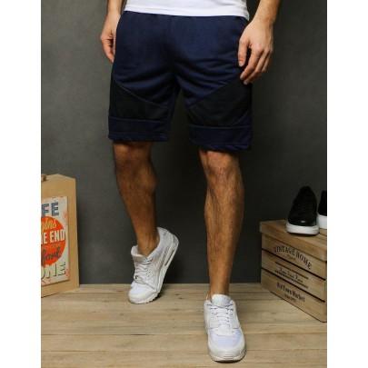 Férfi kék trendi rövidnadrág sx1133