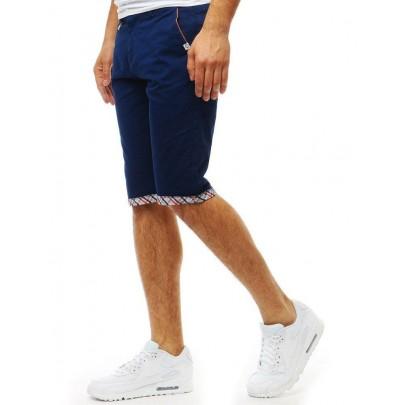 Kényelmes férfi kék farmer rövidnadrág sx1053